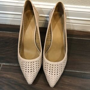14th & Union Perforated Laser Cut Heels Size 10